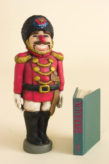 Nutcracker Set - limited edition resin collectible doll  by doll artist Faith Wick.