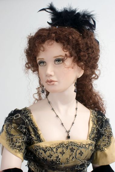 Collectible Limited Edition Porcelain doll Madelaine by Angela Barker