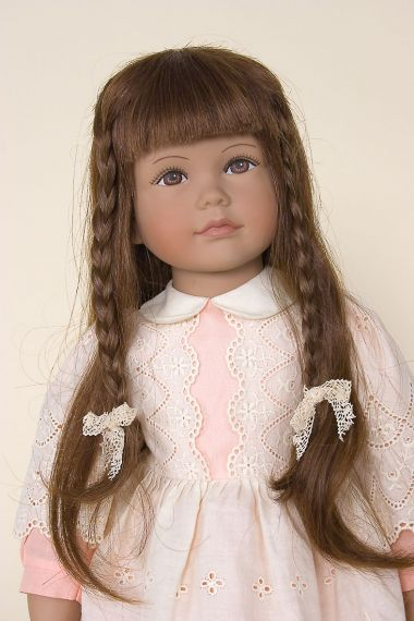 Imelda - collectible limited edition vinyl soft body art doll by doll artist Heidi Ott.