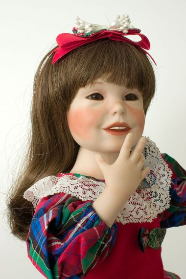 Collectible Limited Edition Porcelain doll Noelle YB by Yolanda Bello