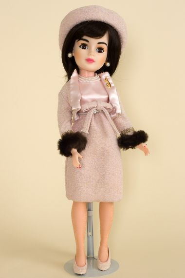 Jackie - limited edition vinyl collectible doll  by doll artist Madame Alexander.