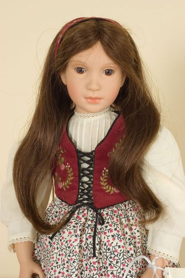 Snow White - limited edition vinyl soft body collectible doll  by doll artist Sonja Hartmann.