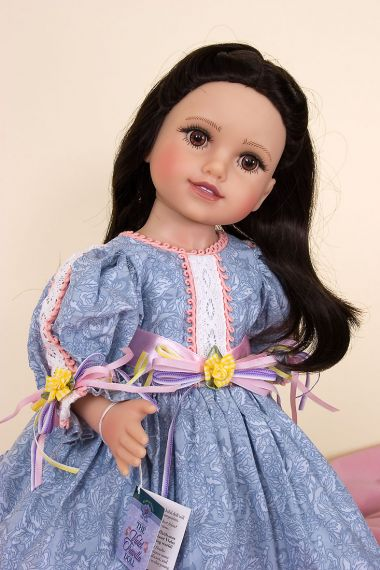 Life of Faith - Violet Travilla - collectible open edition vinyl play doll by doll artist Mission City Press.