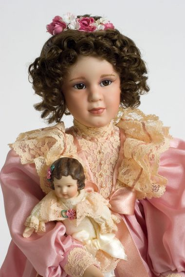 American Made Furniture >> Mary Elizabeth - Porcelain soft body Collectible Doll