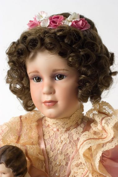 Mary Elizabeth Porcelain Soft Body Collectible Doll