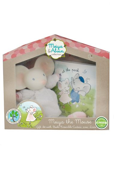 Photo of Meiya the Mouse Gift Set child-safe toy.