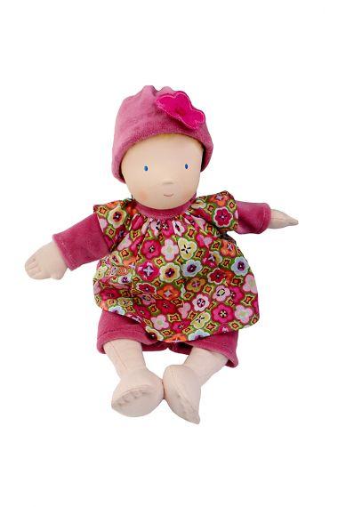 Image of Ruby soft plush play doll.