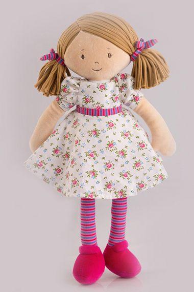 Photo of Fran plush doll by Bonikka.