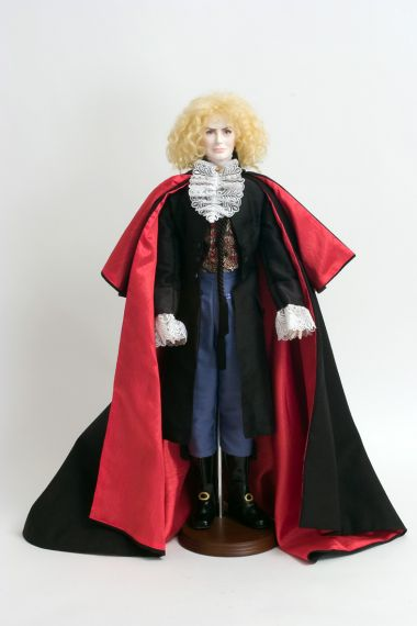 Collectible Limited Edition Vinyl soft body doll Lestat by Paul Crees and Peter Coe
