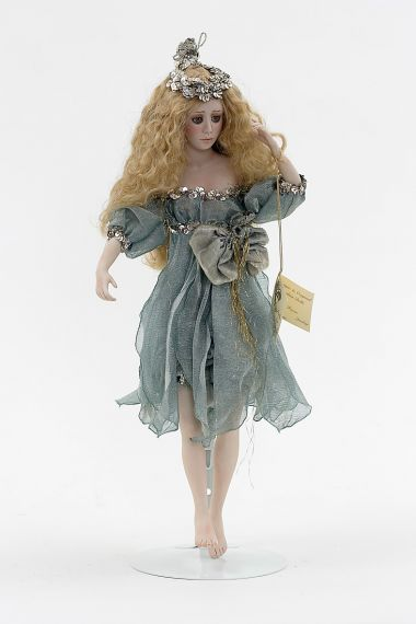 {[en]:Collectible One of a Kind Porcelain soft body doll Fantasy Fairy