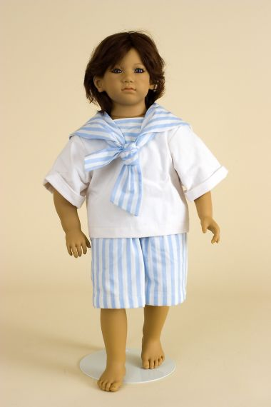 Collectible Limited Edition Vinyl soft body doll Enzo by Annette Himstedt