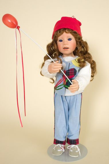 Collectible Limited Edition Vinyl doll Party Balloons by Julie Good Krueger