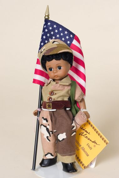 Welcome Home - limited edition vinyl collectible doll  by doll artist Madame Alexander.