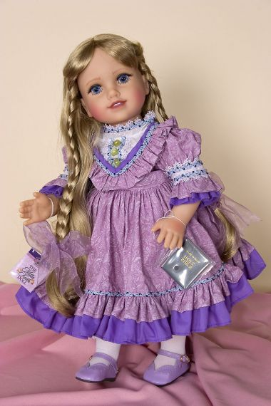 Life of Faith - Millie Keith - collectible open edition vinyl play doll by doll artist Mission City Press.