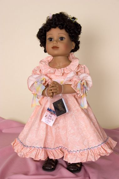 Life of Faith - Laylie Colbert - collectible open edition vinyl play doll by doll artist Mission City Press.