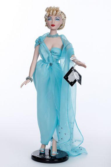 Gene Blue Goddess 93503 - collectible limited edition vinyl hard fashion doll by doll artist Mel Odom.
