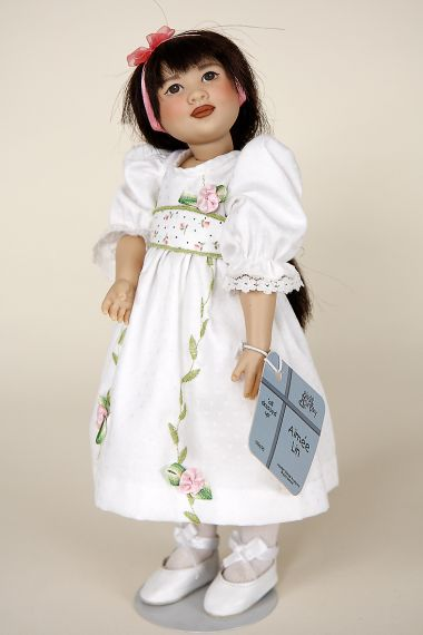 Aimee Lin - limited edition vinyl collectible doll  by doll artist Helen Kish.