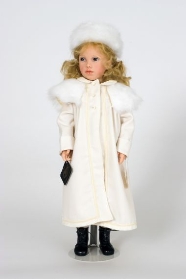 Marie Charlotte no.10 - collectible limited edition resin art doll by doll artist Heloise.