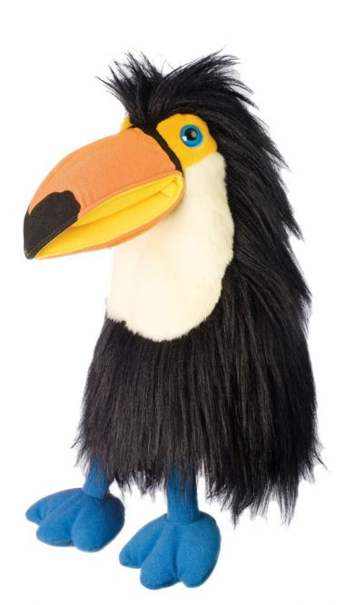 Photo of Large Bird Toucan Puppet PC14059 by The Puppet Company Ltd.