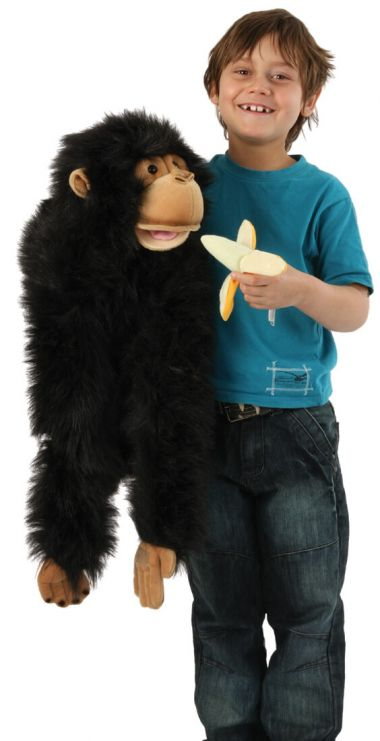 Detail photo of Large Primate Chimp PC004102 by The Puppet Company Ltd.
