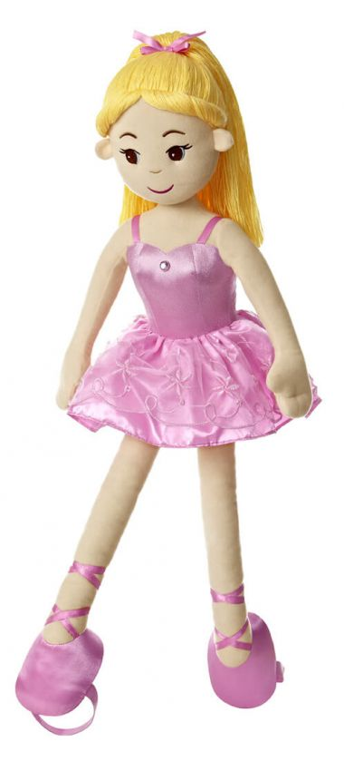 Dance With Me Ballerina Plush Doll By Aurora